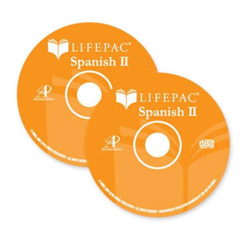 LIFEPAC Spanish 2 Audio CD Set
