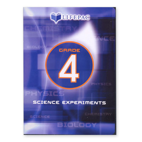 LIFEPAC Science 4 Experiments DVD Video 4th Grade