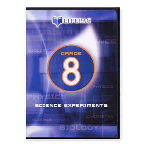 LIFEPAC General Science 2 Experiments DVD Video 8th Grade
