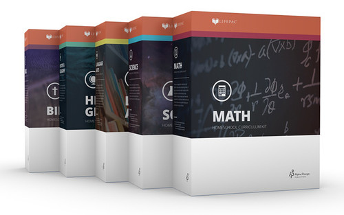 LIFEPAC 5-Subject Homeschool Curriculum Set 6th Grade