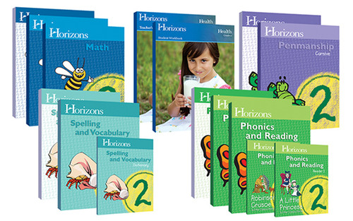 Horizons Complete Homeschool Curriculum Set 2nd Grade