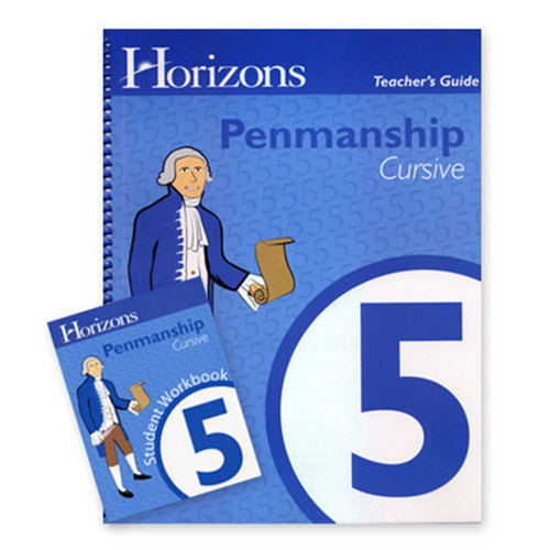 Horizons Penmanship Homeschool Curriculum Set 5th Grade