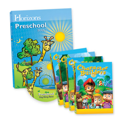 Horizons Homeschool Curriculum Multimedia Preschool