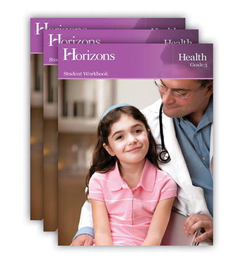 Horizons Health Homeschool Curriculum Set 3rd Grade