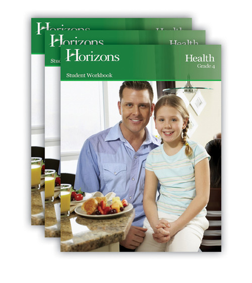 Horizons Health Homeschool Curriculum Set 4th Grade
