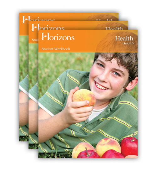 Horizons Health Homeschool Curriculum Set 6th Grade