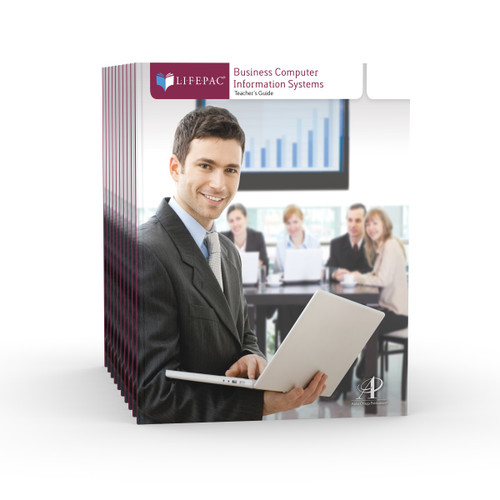LIFEPAC Business Computer Information Systems Set of 10 LIFEPACs Only
