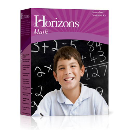 Horizons Math 8 Algebra 1 Homeschool Curriculum Set