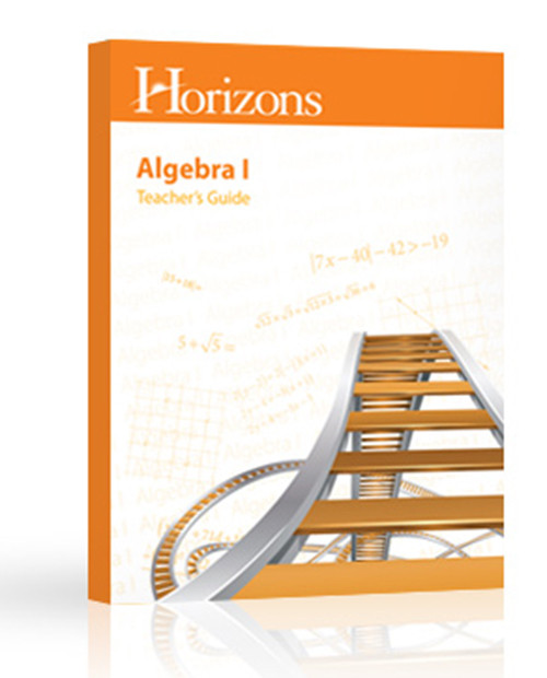 Horizons Math 8 Algebra 1 Teachers Guide