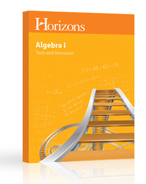 Horizons Math 8 Algebra 1 Test and Resource Book