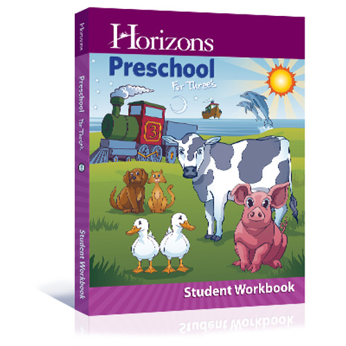 Horizons Preschool for Three's Student Workbook