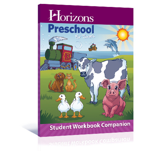 Horizons Preschool for Three's Student Workbook Companion