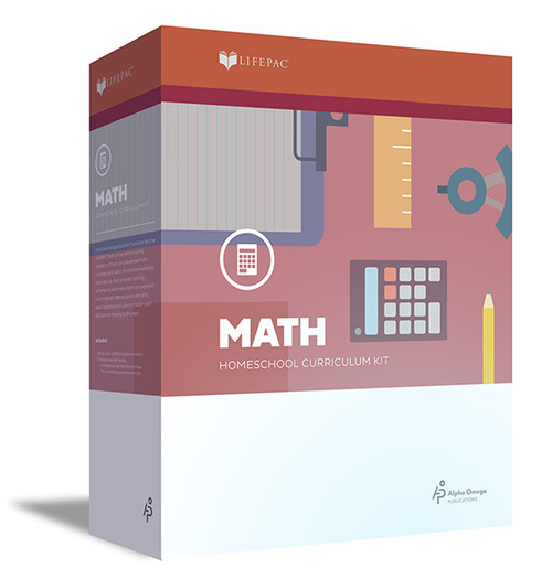 LIFEPAC Math Homeschool Curriculum Set 5th Grade