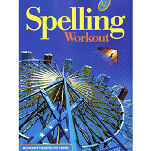 MCP Spelling Workout 2002 Student Book G