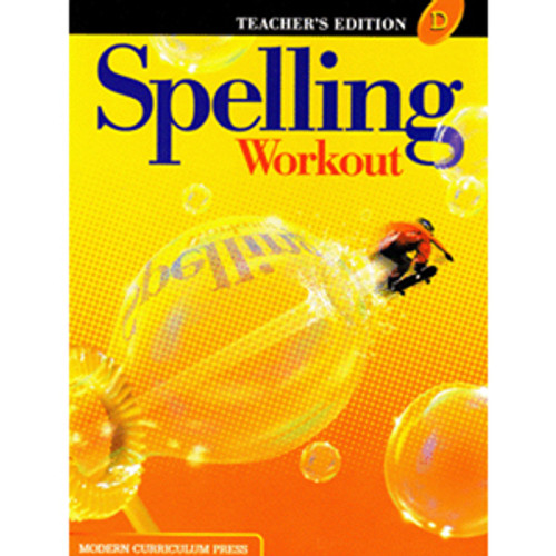 MCP Spelling Workout 2002 Teacher Book D