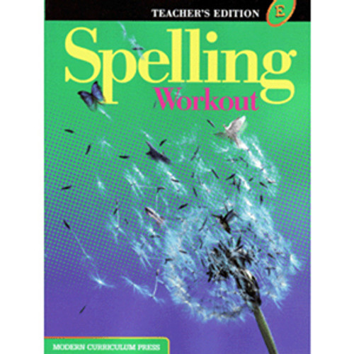 MCP Spelling Workout 2002 Teacher Book E