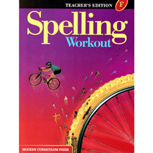 MCP Spelling Workout 2002 Teacher Book F