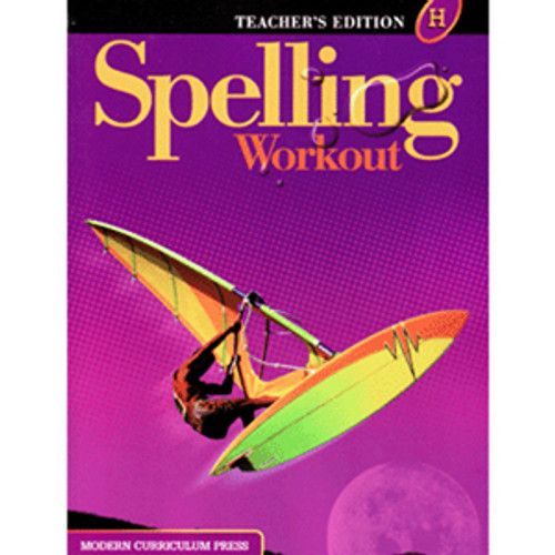 MCP Spelling Workout 2002 Teacher Book H