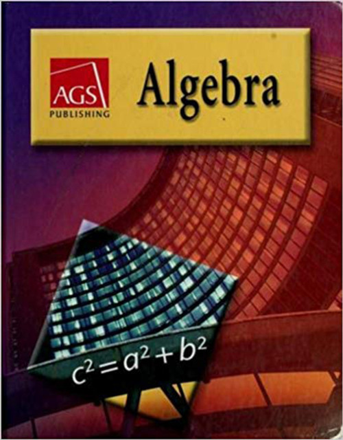 AGS Algebra 1 Workbook Answer Key