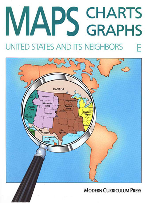 Maps Charts Graphs Level E 5th Grade