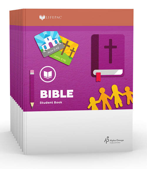 LIFEPAC Bible Set of 10 Student Books 1st Grade