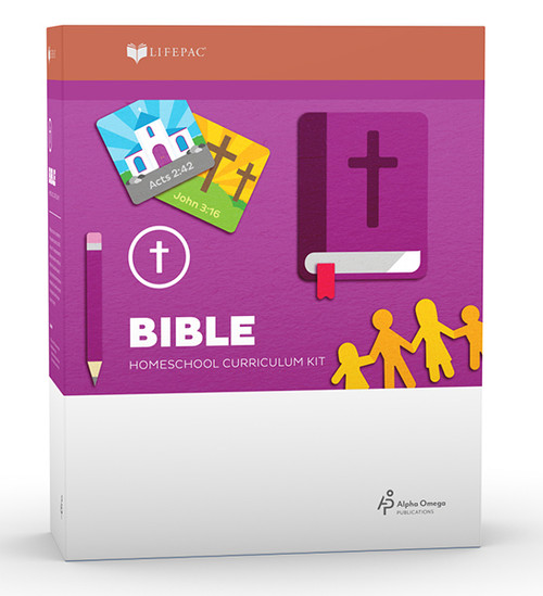 LIFEPAC Bible Homeschool Curriculum Set 2nd Grade