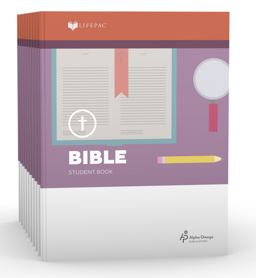 LIFEPAC Bible Set of 10 Student Books 3rd Grade