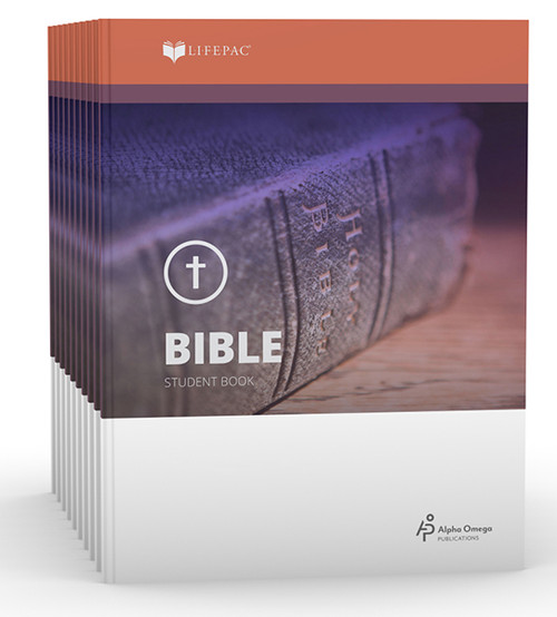 LIFEPAC Bible Set of 10 Student Books 6th Grade