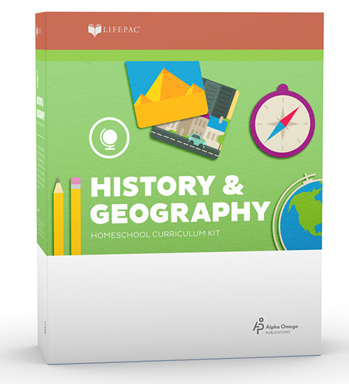 LIFEPAC History & Geography Homeschool Curriculum Set 1st Grade