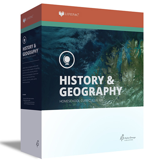 LIFEPAC Civics and World Geography Homeschool Curriculum Set 9th Grade