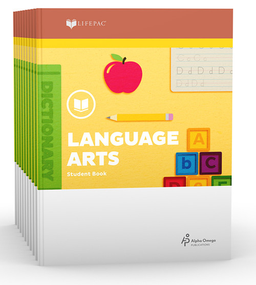LIFEPAC Language Arts Student Books 1st Grade