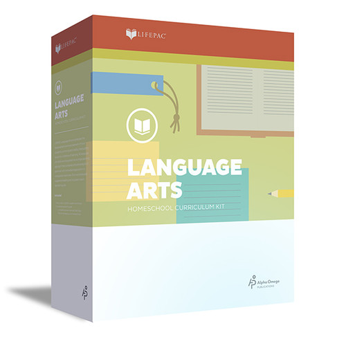 LIFEPAC Language Arts Homeschool Curriculum Set 4th Grade