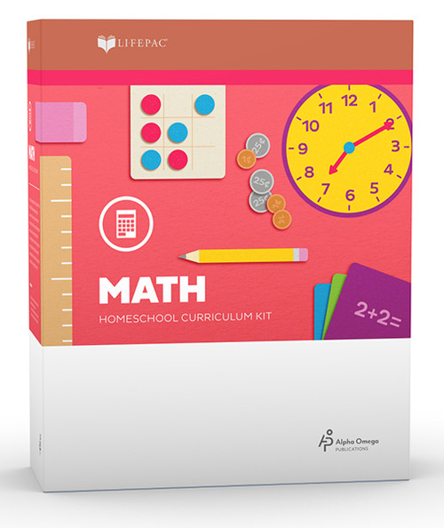 LIFEPAC Math Homeschool Curriculum Set 1st Grade