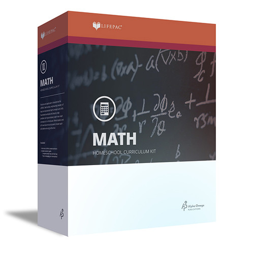 LIFEPAC Algebra 1 Homeschool Curriculum Set 9th Grade