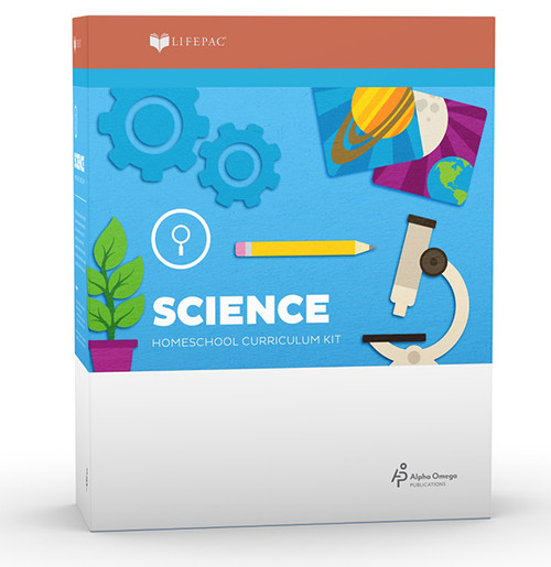 LIFEPAC Science Homeschool Curriculum Set 1st Grade