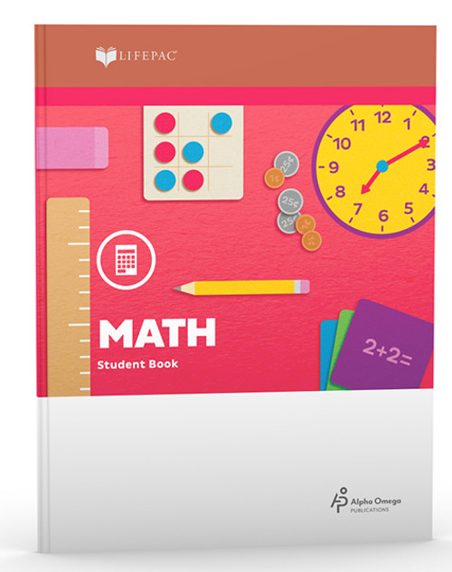LIFEPAC Math Teacher Book Part 2 1st Grade