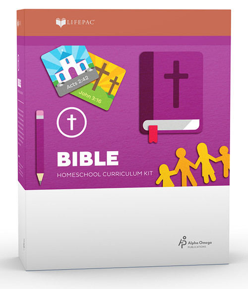 LIFEPAC Bible Homeschool Curriculum Set 1st Grade