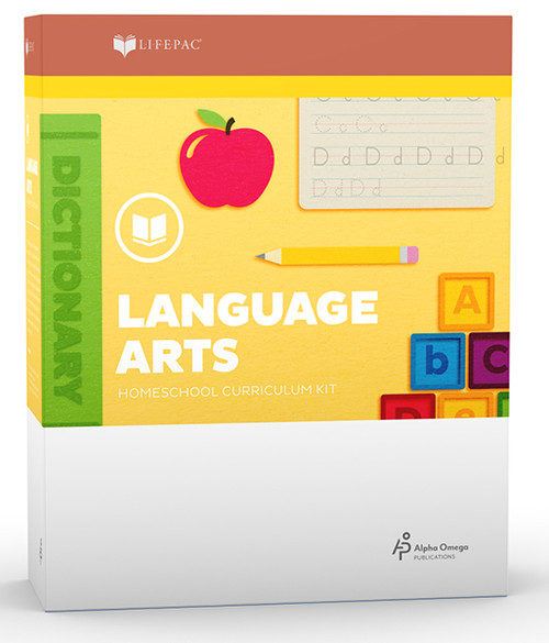 LIFEPAC Language Arts Homeschool Curriculum Set Kindergarten