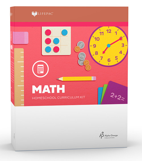 LIFEPAC Math Homeschool Curriculum Set Kindergarten
