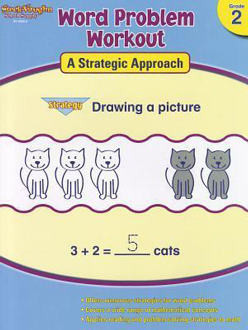 Word Problem Workout: A Strategic Approach Reproducible 2nd Grade