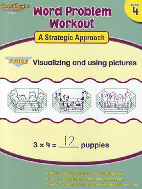 Word Problem Workout: A Strategic Approach Reproducible 4th Grade