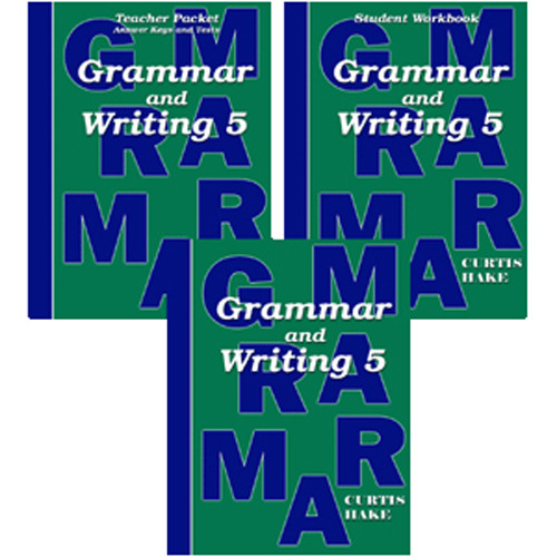 Saxon Grammar and Writing 5 Homeschool Curriculum Kit 1st Edition