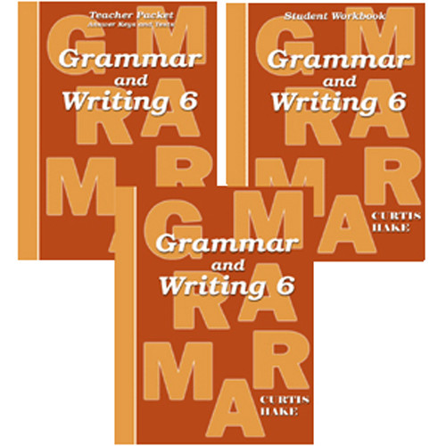 Saxon Grammar and Writing 6 Homeschool Curriculum Kit 1st Edition