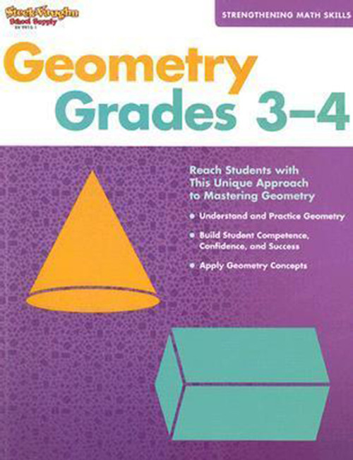 Strengthening Math Skills: Geometry Reproducible Grades 3-4