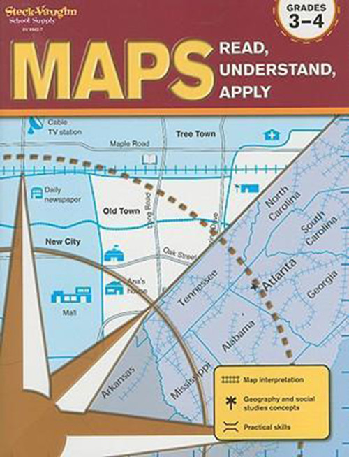 Maps Read Understand Apply Grades 3-4