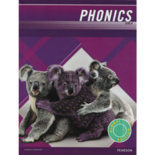 MCP Plaid Phonics 2011 Student Book Level K