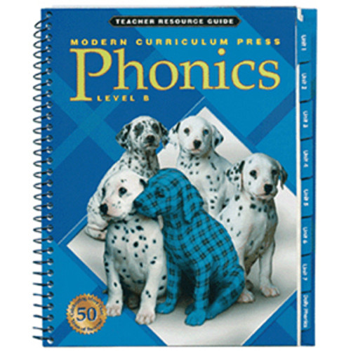 MCP Plaid Phonics Teacher Guide Book Level B