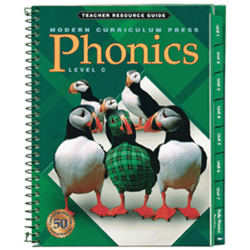 MCP Plaid Phonics Teacher Guide Book Level C