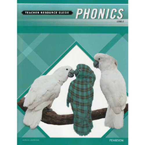 MCP Plaid Phonics Teacher Guide Book Level E