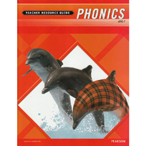 MCP Plaid Phonics Teacher Guide Book Level F